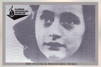 2015 FHM Anne Frank Honorarium
